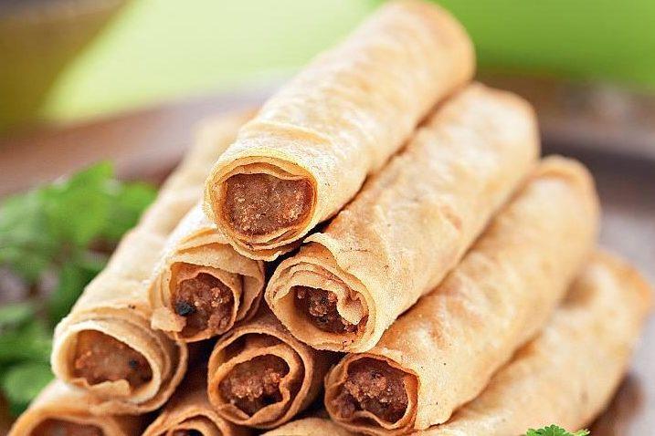 Лумпия (роллы, зажаренные во фритюре) — рецепт филиппинской кухни