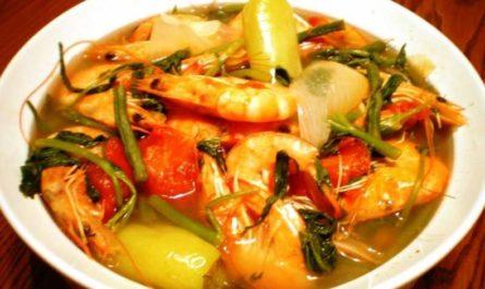 Филиппинский рыбный суп
