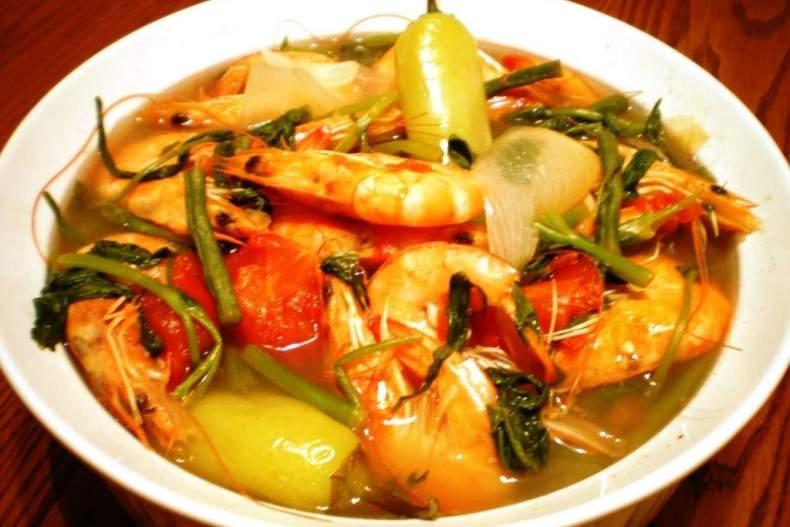 Филиппинский рыбный суп — рецепт филиппинской кухни