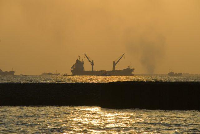 Закат Мальдивы