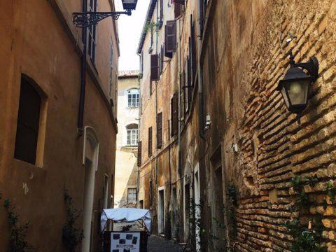 Римское гетто, еврейский квартал Рима, Италия