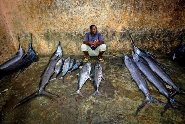 Рыбный базар Мальдивы