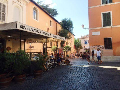 Район Трастевере, Рим, Италия