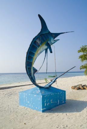 Маафуши, рыбацкая деревня, Мальдивы
