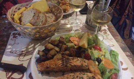 Комплексный итальянский ужин в Трастевере, Рим, Италия