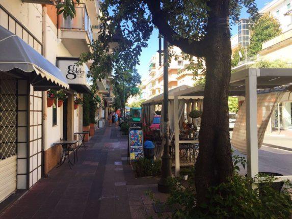 Anzio, Италия, улицы