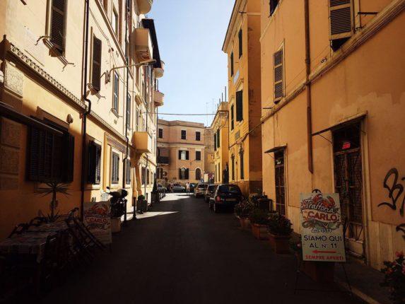 Улицы Anzio, Италия