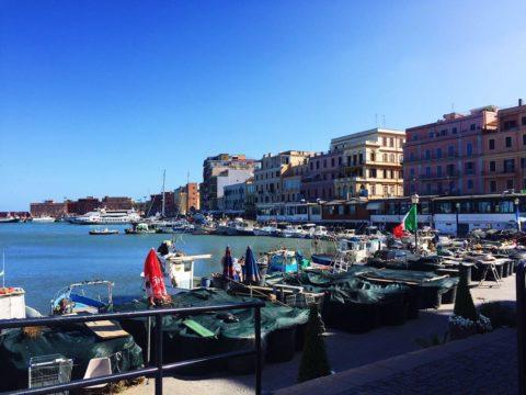 Anzio, Италия, порт