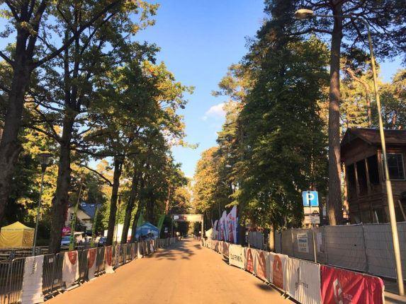 В Юрмале готовятся к велопробегу, Латвия