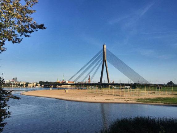 Даугава, Рига, Латвия