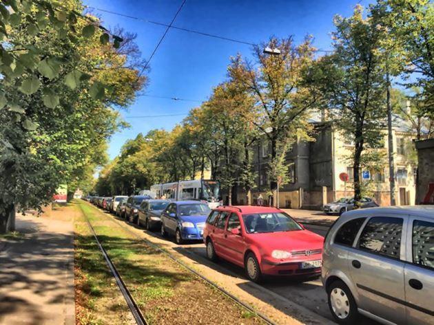 Латвия, Рига, осень октябрь