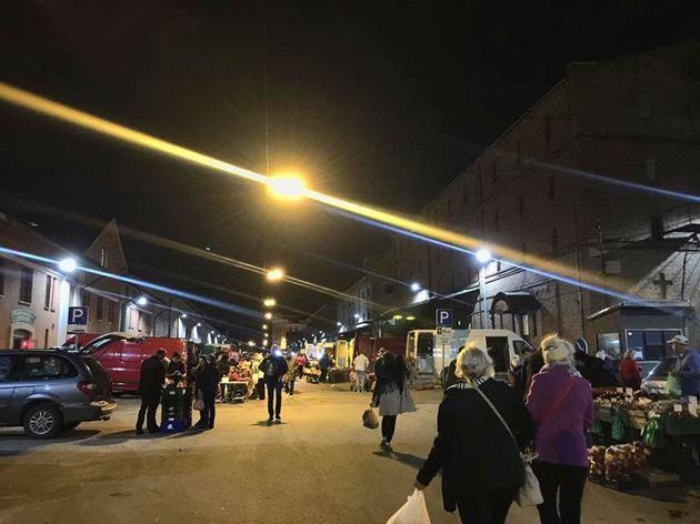 Ночной рынок, Рига, Латвия