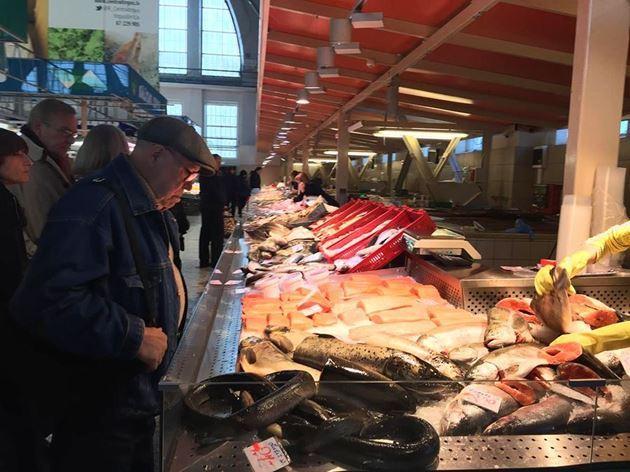 Центральный рынок, Рига, Латвия