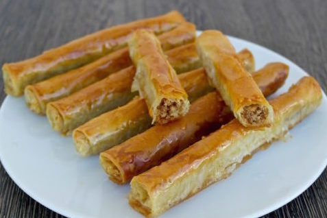 Ореховые трубочки — рецепт египетской кухни