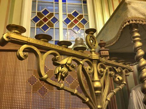 Венчальный зал Большая хоральная синагога Петербург
