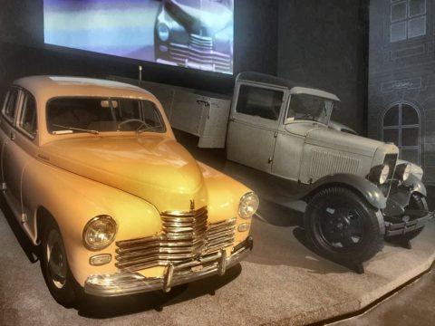 Гараж музея Черномырдина Черный Отрог, Оренбург