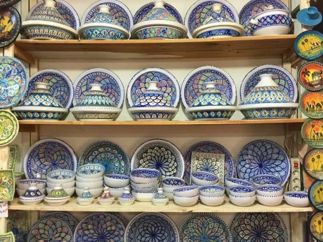 Керамика, Тунис