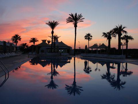 Пляж, Тунис