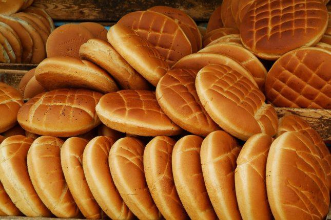 Хлеб, рынок, Тунис