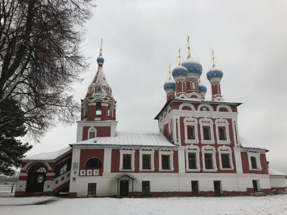 Кремль Углича, церковь Дмитрия на крови