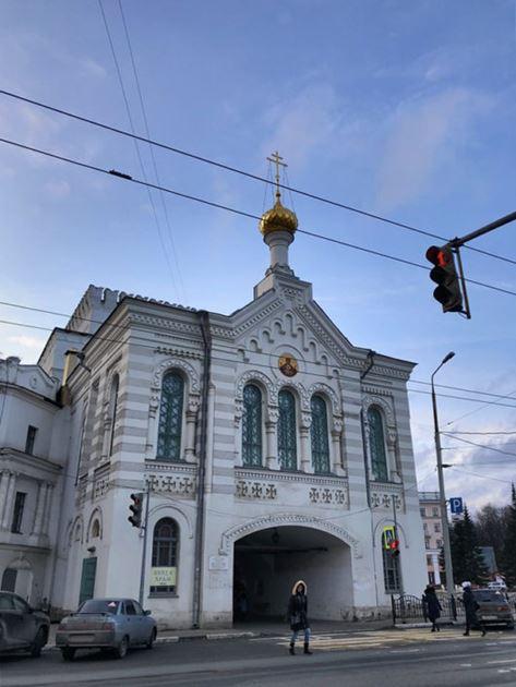 Ярославль, Знаменская башня