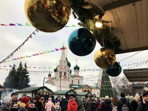 Ярославль Новый год 2018