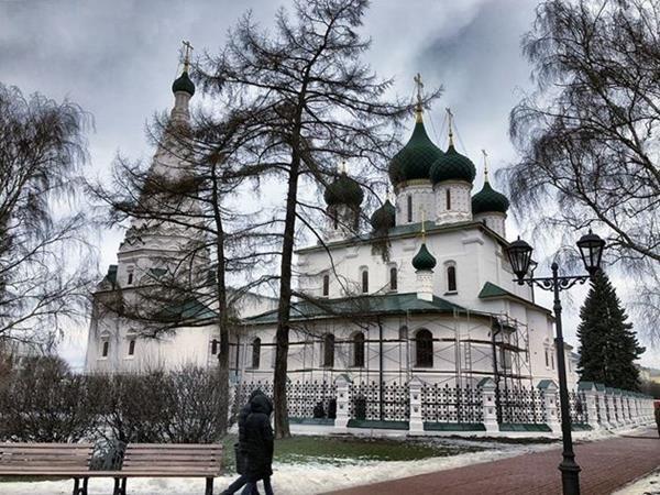 Ярославль, Церковь Ильи Пророка