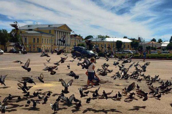 Достопримечательности и фото Костромы Золотое кольцо России, маршрут пешей прогулки по Костроме летом: Кострома mon amour