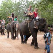 Таиланд Канчанабури деревня народности карен