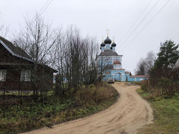 Введенская церковь, Кравотынь, Тверская область