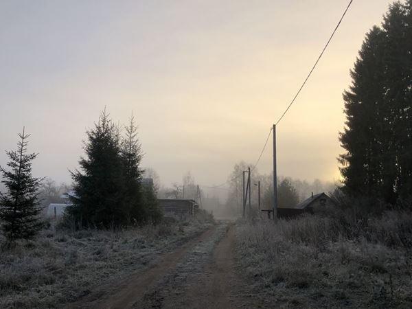 Утро в Осташкове, Тверская область
