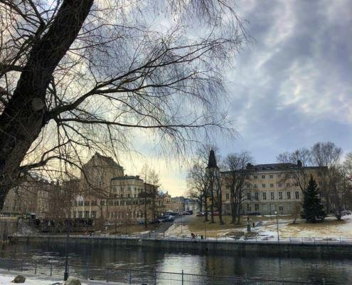 Тампере, Финляндия, городской парк