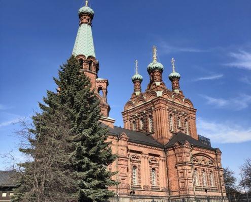 Тампере, Финляндия, церковь Александра Невского