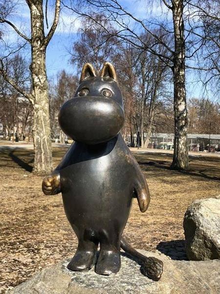Тампере, Финляндия. Музей Мумий Троллей