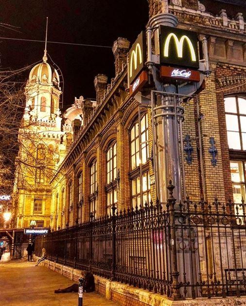 Улицы и дома Будапешта