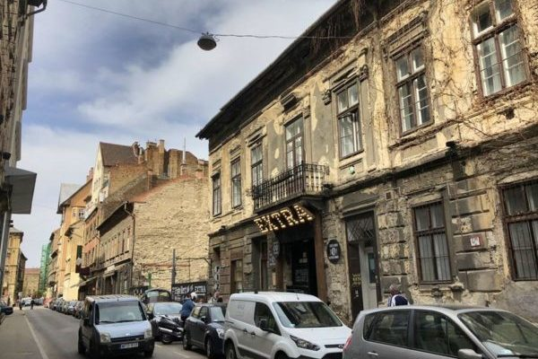 Еврейский квартал в Будапеште